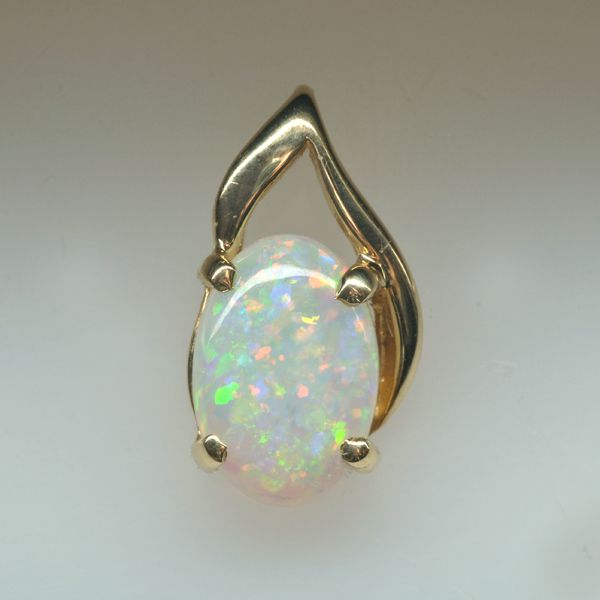Get Natural Solid White Opal Yellow Gold Pendant..#OpalRings #Opaljewellery