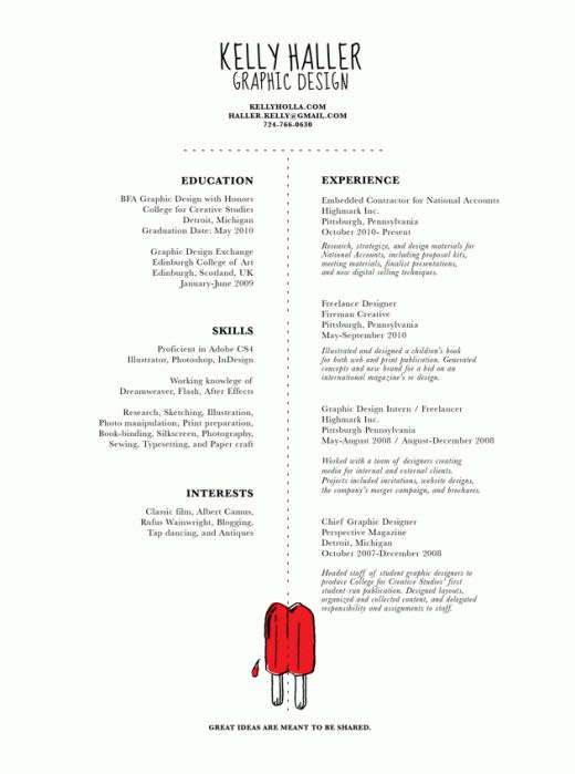 156 best Creative Resumes images on Pinterest