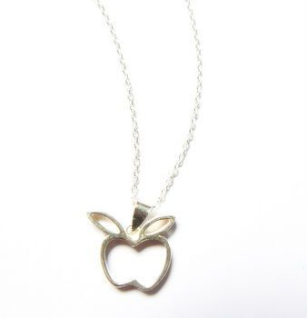 Sterling Silver Apple Pendant £18.00