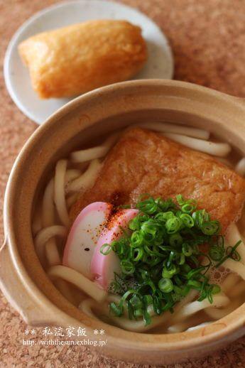 いなり寿司ときつねうどん - 【E・レシピ】料理のプロが作る簡単レシピ