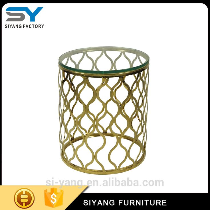 Corner Table, Side Tables, Stainless Steel, Living Room, Rounding, Blue,  Corner Desk, Occasional Tables, Living Rooms