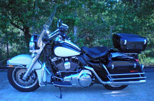 2008 Harley Davidson Road King Police, Price:$9,500. Palm Coast, Florida #harleydavidsons #harleys #roadkingpolice #motorcycles #hd4sale