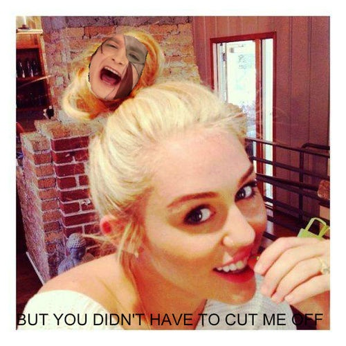 For real!!!!: Hair Ideas, Miley Cyrus, Platinum Blondes, Style, Shorts Hair, Hairs, Beautiful, Miley Buns, Mileycyrus