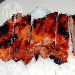Adobo de poulet au barbecue @- Philippines