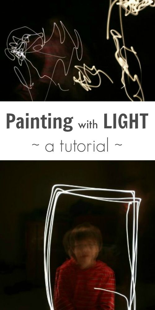 This painting with light tutorial by photographer Angie Dornier walks you through the camera settings and instructions for painting with light. Beautiful!