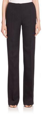 Victoria Beckham Wool Flared Tuxedo Pants