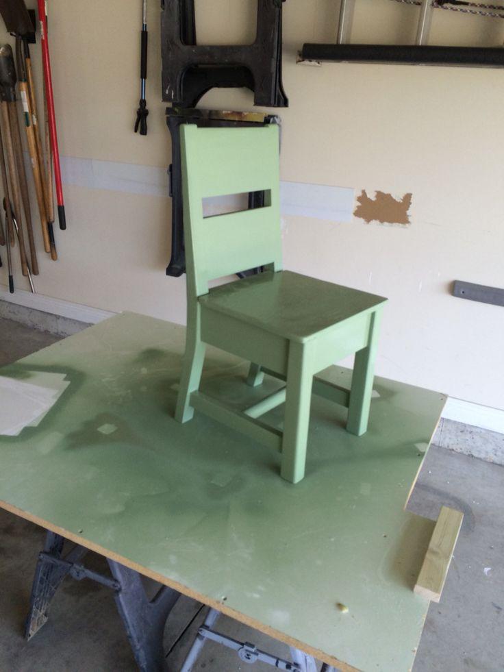 First chair attempt
