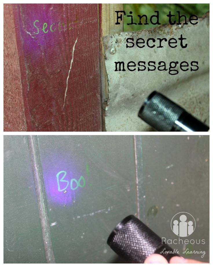 Find the secret messages - play-based learning with forensics for kids!