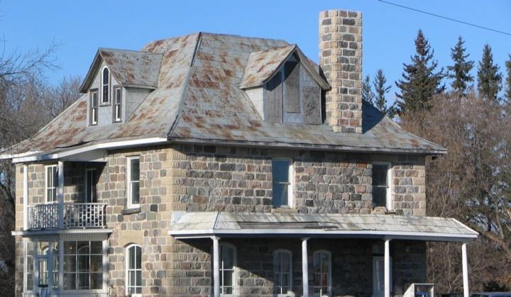 East of Portage La Prairie MB - -Manitoba's Uncommon* Sites & Sights Headlights