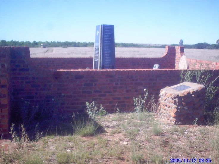 Free State, BOSHOF district, Perdeberg, Wolvekraal 368, Battle of Paardeberg, Boer War memorials