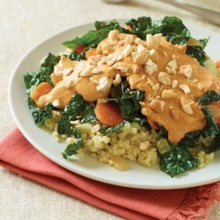 Cashew Curry with Kale and Quinoa | Delicious | Pinterest