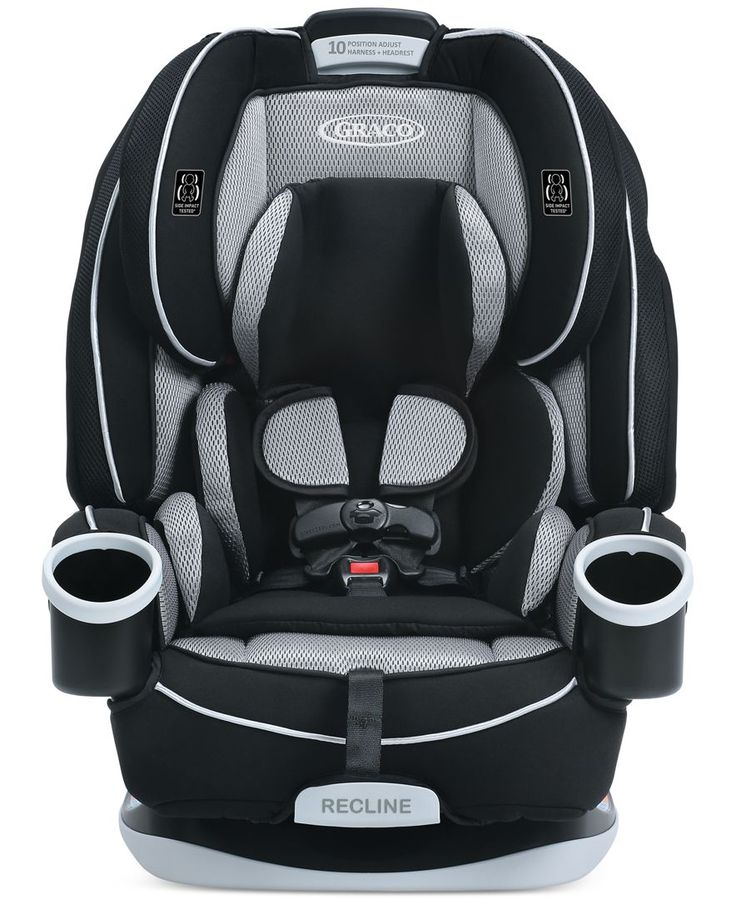 Keep your little one safe from their earliest days right up to ten years with the Graco 4Ever All-in-One car seat. The 4Ever All-in-One grows with your child, as well, transitioning from a rear-facing