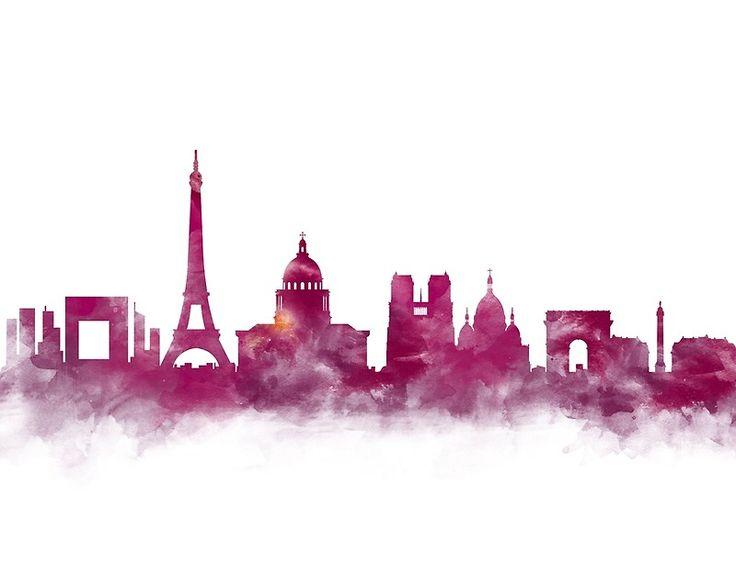 25 Unique Paris Skyline Ideas On Pinterest City