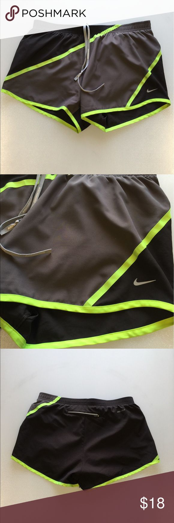 Nike Running Shorts Nike Women's Running Shorts  Size Small  Dri fit  Inside liner  Rear pocket  Very Good Condition Nike Shorts