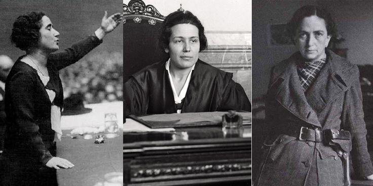 La primera mujer ministra:Federica Montseny (1936) En 1936, Montseny se convirtió en la primera mujer en dirigir un ministerio de la historia española. Se trataba del de Sanidady Asistencia Social. A pesar de que solo estuvo