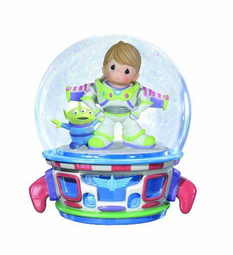 Precious Moments Boy as Buzz Lightyear Musical Water Globe Figurine - http://www.preciousmomentsfigurines.org/disney/precious-moments-boy-as-buzz-lightyear-musical-water-globe-figurine/