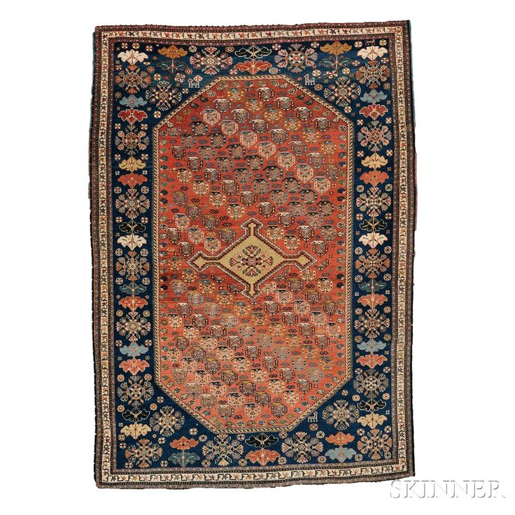 Qashqai Rug, Southwest Persia, late 19th century,  5 ft. 5 in. x 3 ft. 8 in.