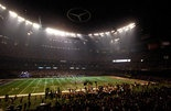 Power outage during Super Bowl 2013  from Kathleen Flynn 2/4/13