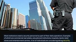 Click here http://goo.gl/Qffc0E  Physical security is the most common career path for graduates of this course. You will be in charge protecting people, property…