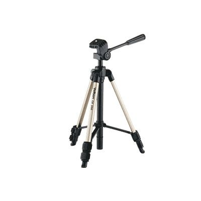 We used a velbon tripod to help us get better shots.