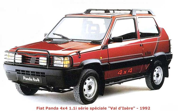 fiat panda 4x4 sisley top 20 pinterest 4x4 pandas. Black Bedroom Furniture Sets. Home Design Ideas