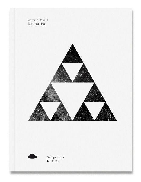 cover design for  program booklets of the semperoper dresden