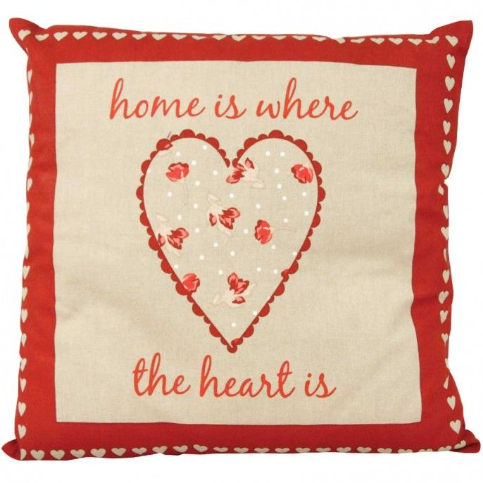 HOME SWEET HOME CUSHION - Home & Furniture | Poundstretcher