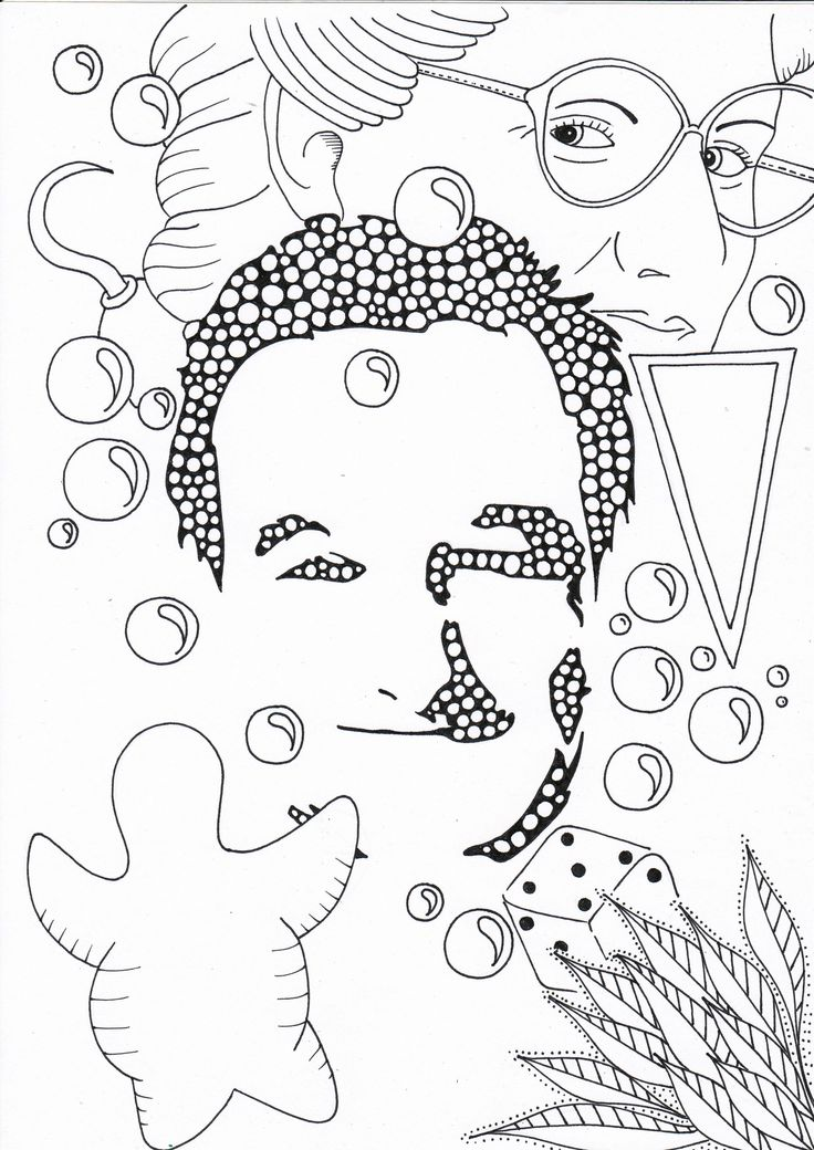 people coloring pages print - photo#39