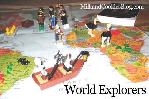 History and Geography with Legos