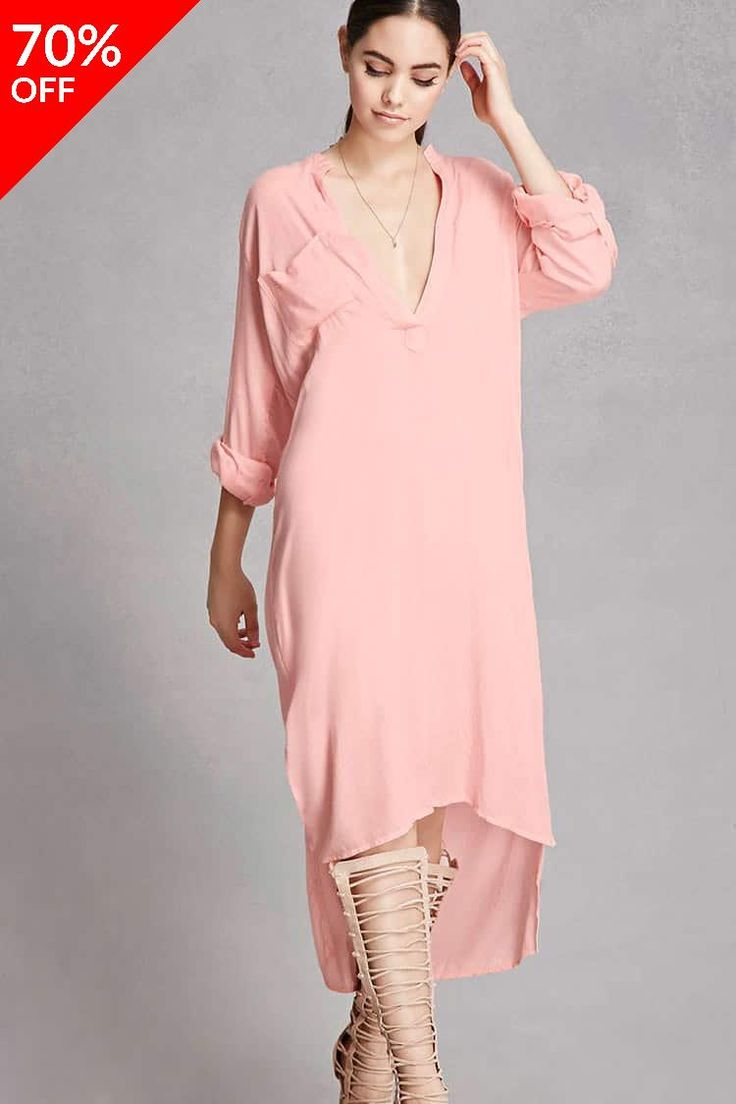Boho Me High-Low Shirt Dress // 17.40 USD // Forever 21