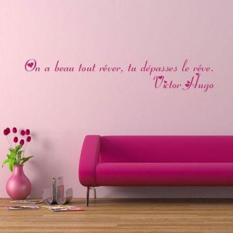 Sticker Citation 21 - Victor Hugo
