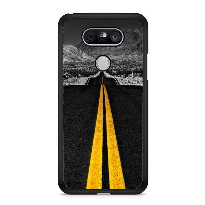Road Yellow Lines LG G6 Case Dewantary