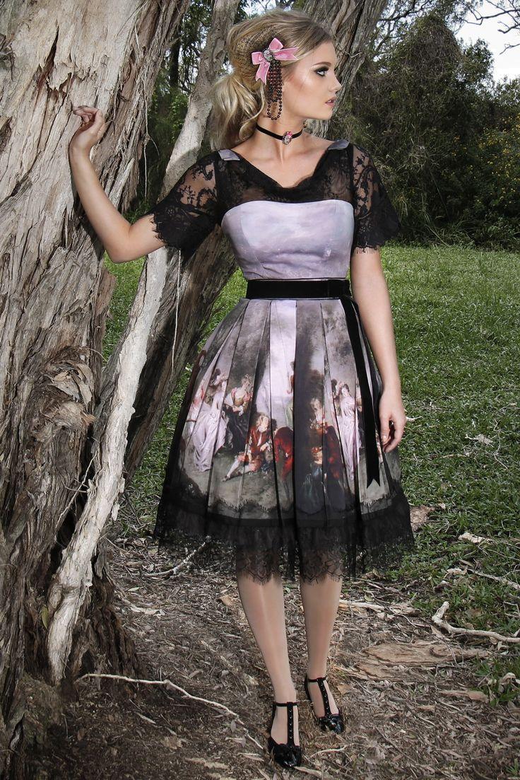 Midsummer Nights Cowl Dress
