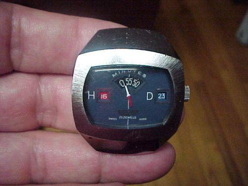 Sicura Jump Hour Breitling Vintage Watch Swiss No Reserve L K EBay SCURA Pinterest
