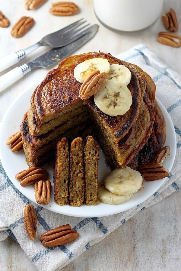 The Healthy Pumpkin Pancakes of Your Dreams Recipe