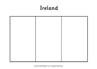 Ireland Flag Printables