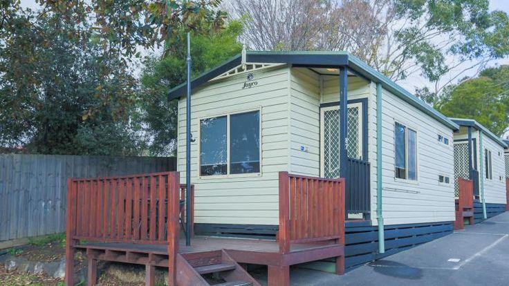 Exterior of the 1 Bedroom Cottage. #MelbourneBIG4