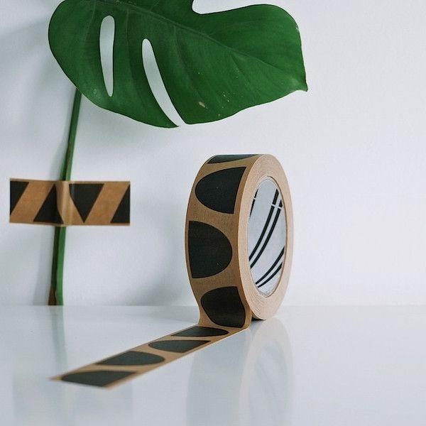 Semi-Circle Parcel Tape by Seventy Tree