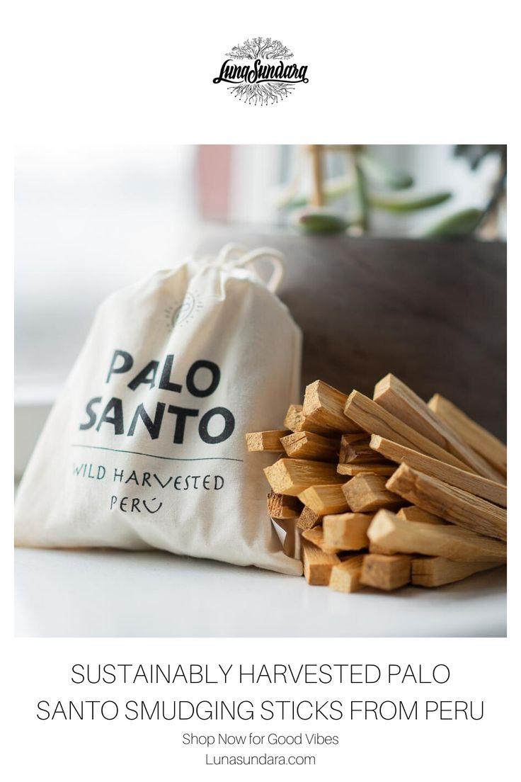how to burn palo santo sticks
