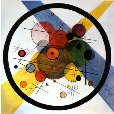 kandinsky, Russian painter For handmade greeting cards visit me at My Personal blog: http://stampingwithbibiana.blogspot.com/