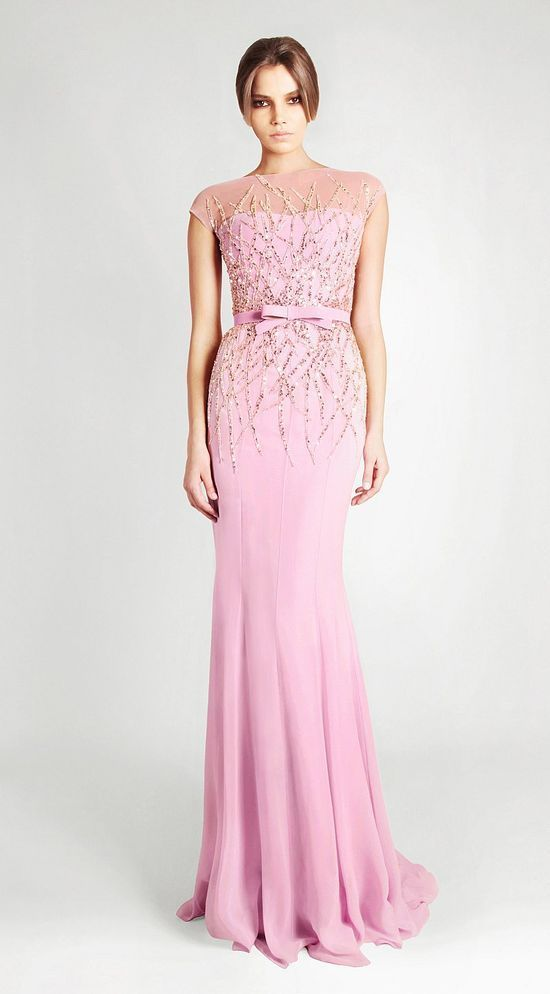 20 Glamorous Evening Dresses By Georges Hobeika