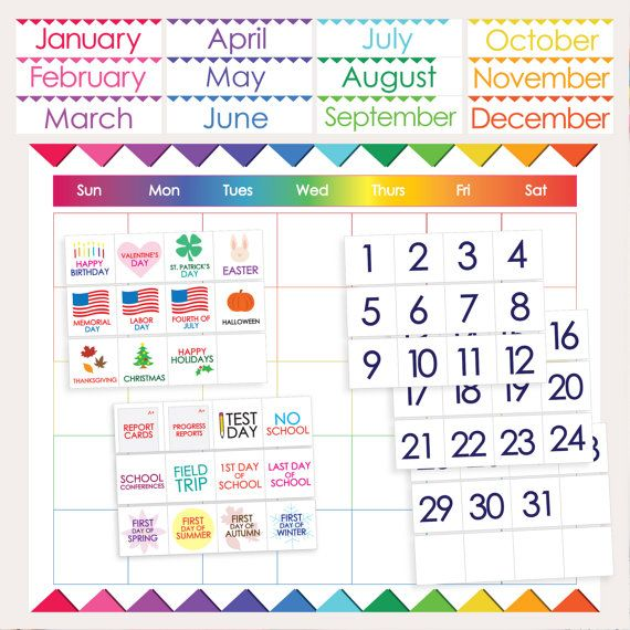 5 Day Calendar Template 10 Best Teacher By Design Products Images