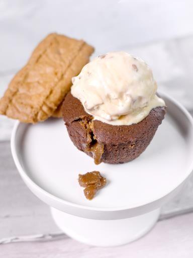 Moelleux au chocolat et à la crème de spéculoos - Recette de cuisine Marmiton : une recette