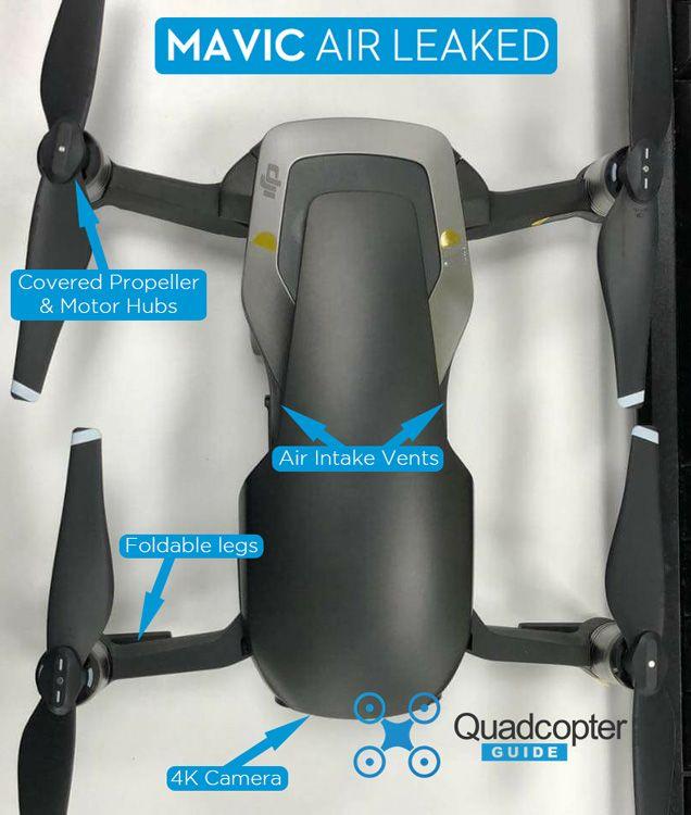 Dji Mavic Air Leaks Rumors Quadcopter Guide Air Leaks Mavic Dji Mavic Pro