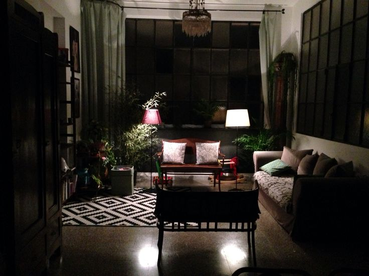 Loft gallery.Amazing at night
