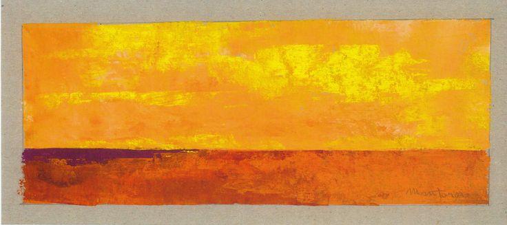 giallo su rosso