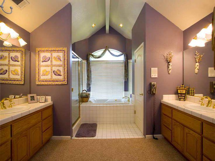 die besten 25+ country style purple bathrooms ideen auf pinterest ... - Franzosischen Stil Interieur Ideen