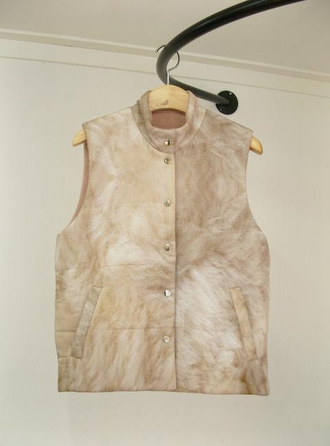 al,thing - Digital print fur vest