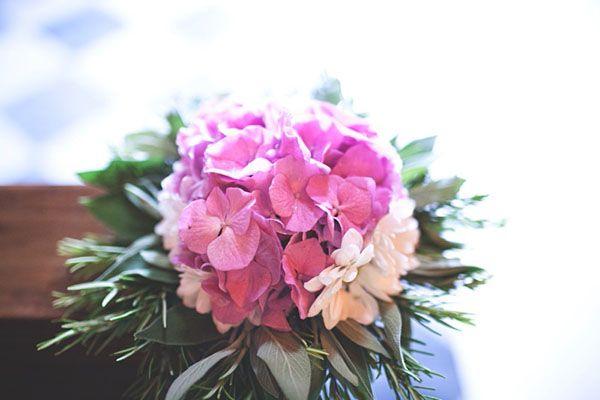Un matrimonio al profumo di ortensie ed erbe aromatiche: Bianca e Paolo   Wedding Wonderland