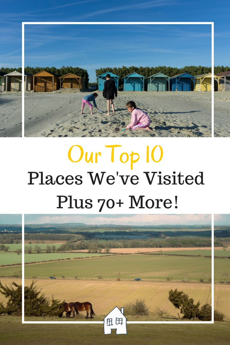 We love visiting new places so I thought I would put together my top 10 places we have visited. Family travel is fun and exciting but it doesn't have to be anywhere exotic and far away. Local UK is just as fun. Family Days Out, Family Day Out. Places to visit in the UK with kids. #FamilyDays #FamilyTravel #Family #DayOut #UKTravel